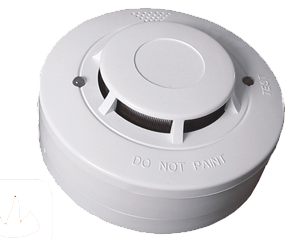 Optical-smoke-detector